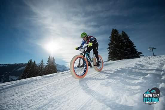 Snowbikefestival Gstaad, erste Etappe