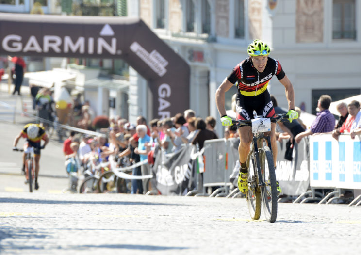 Finale der Garmin Bike Marathon Classics am 20. Iron Bike Race, am Sonntag, 25. September 2016 in Einsiedeln. Foto Martin Platter
