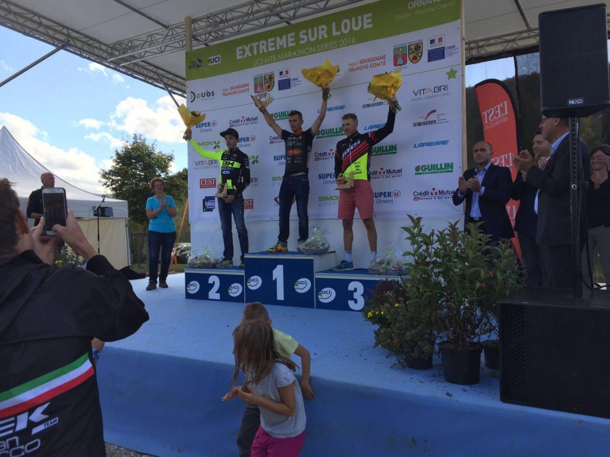 Rang 3 beim UCI Marathon in Ornans!