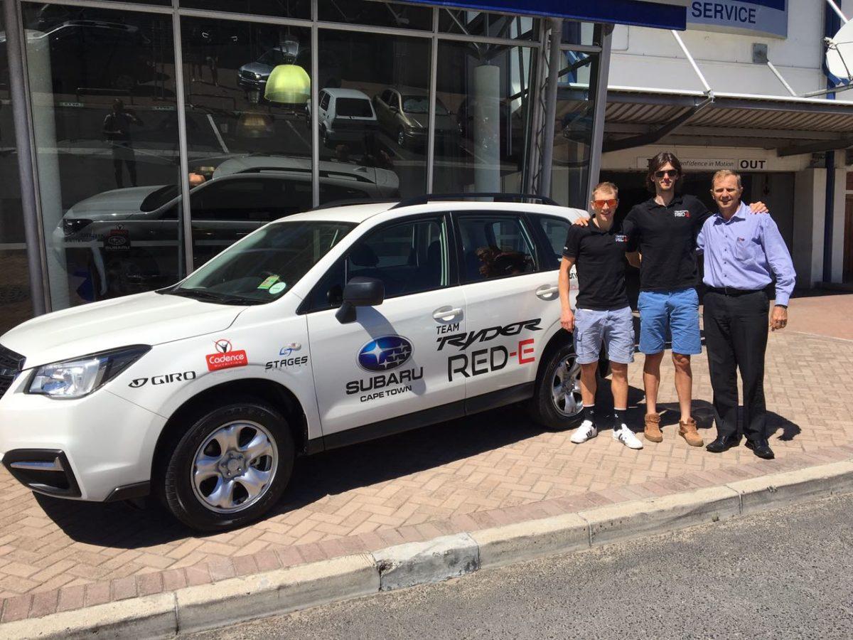 Support durch Subaru Cape Town!