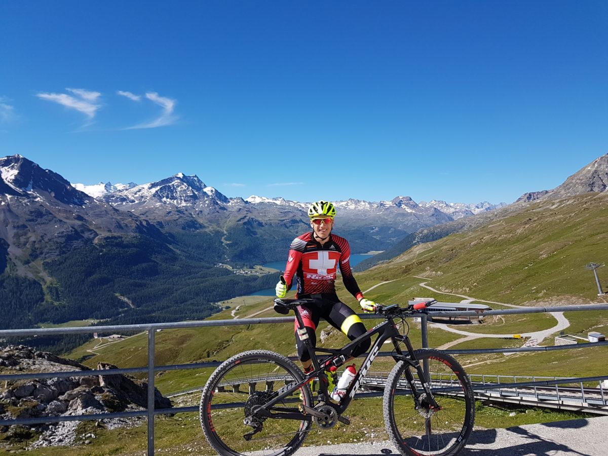 Rang 12 zum Auftakt beim Engadin Bike Giro