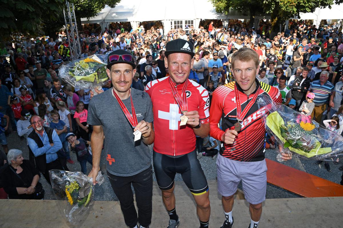 Rang 3 an der Schweizer Meisterschaft im Rahmen des Iron Bike Races in Einsiedeln!