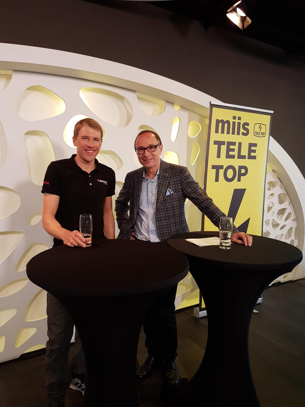 Zu Gast im TV beim TeleTop!