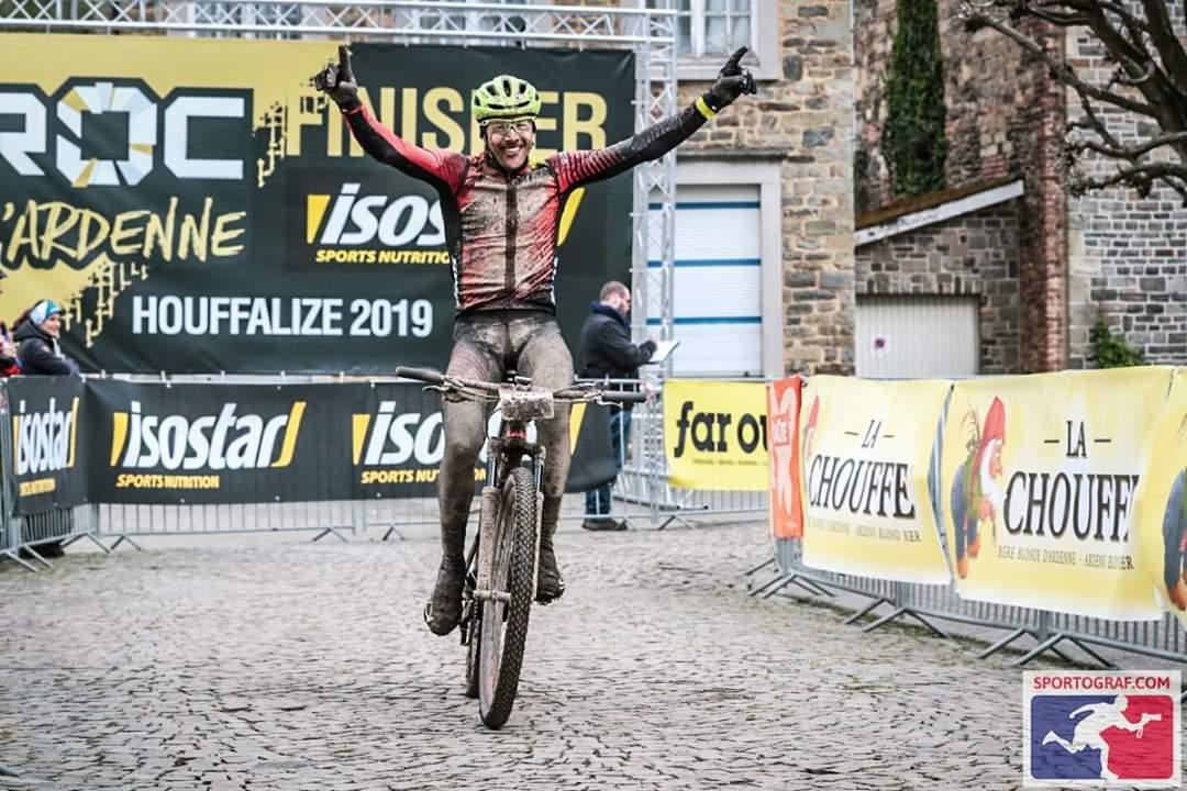 Sieg beim UCI Marathon, Roc d'Ardenne in Belgien!