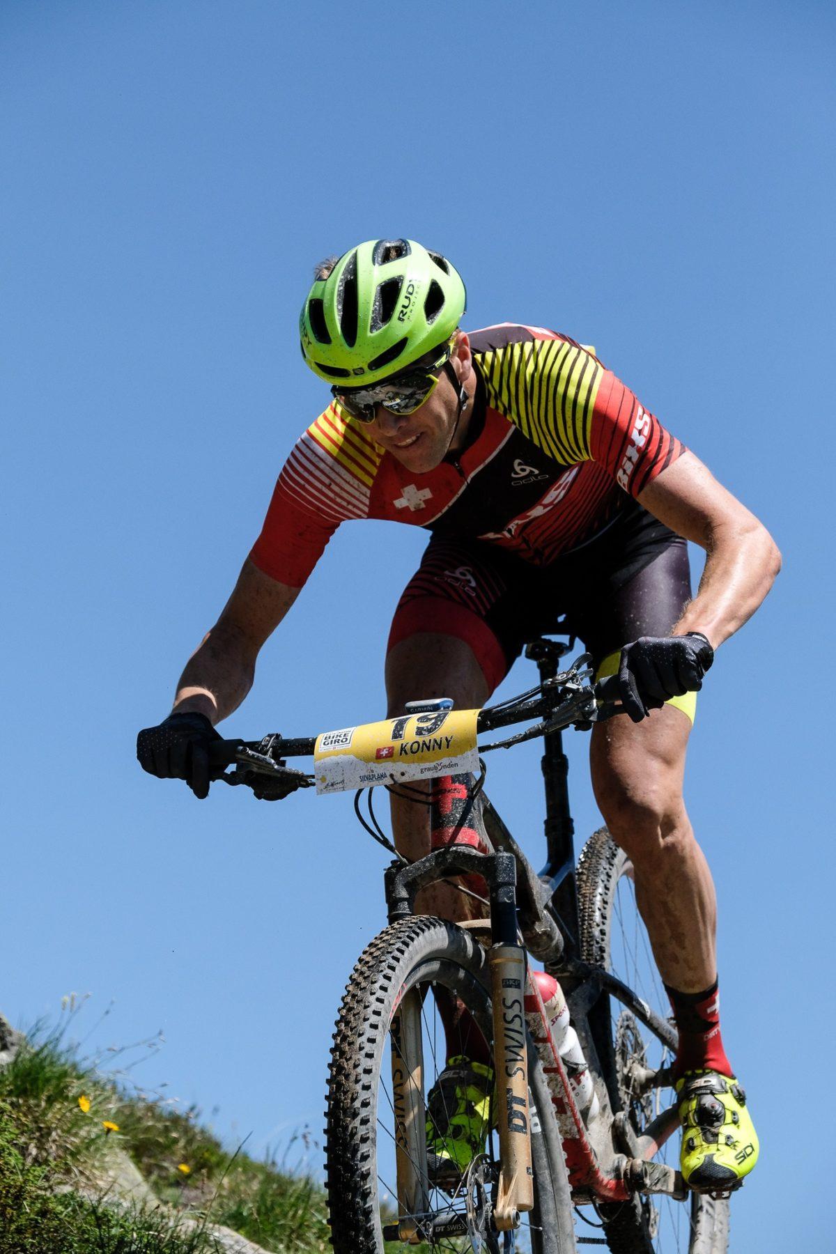 4ter Gesamtrang und 5ter Tagesrang auf der 2. Etappe des Engadin Bike Giro's.