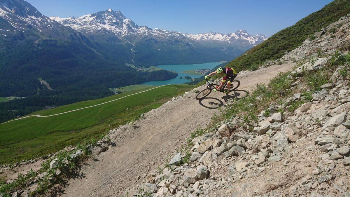 Rang 5 zum Auftakt beim Prolog des Engadin Bike Giro's!