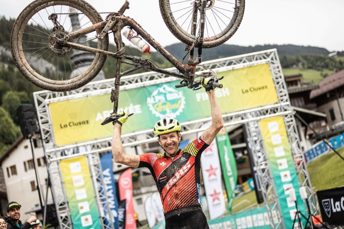 Sieg beim UCI World Series Marathon im Rahmen des Alps Bike Festival in La Clusaz FR!