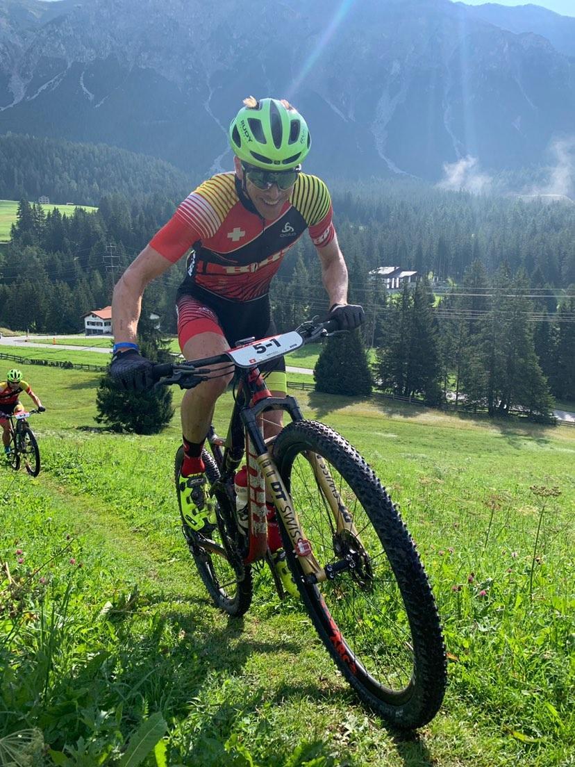 """Rang 8 auf der 4ten Etappe beim Swiss Epic. """"Motorschaden"""" bei Oli."""