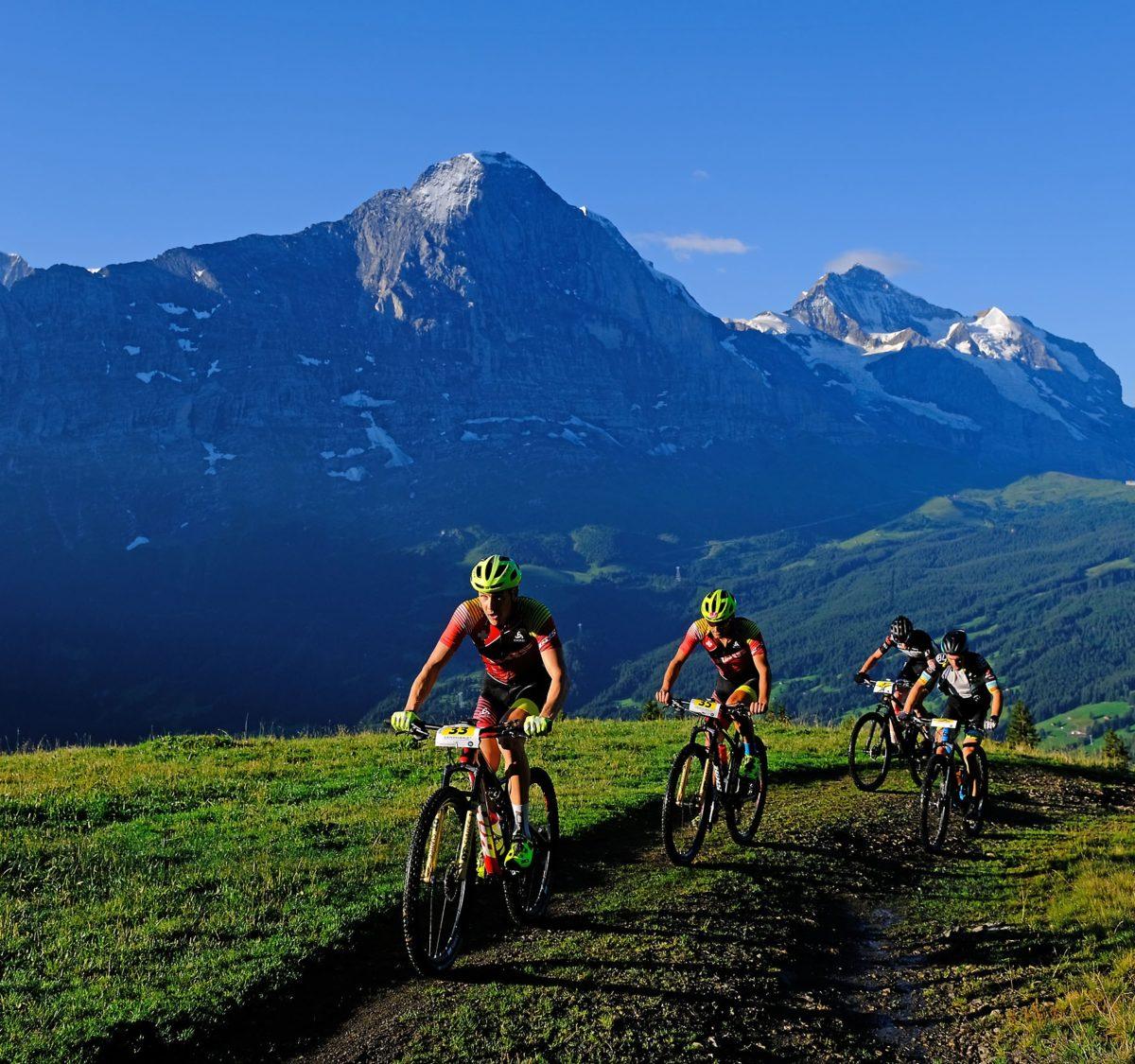 Rang 7 bei der Eiger Bike Challenge. #notgoodbutalsonotbad