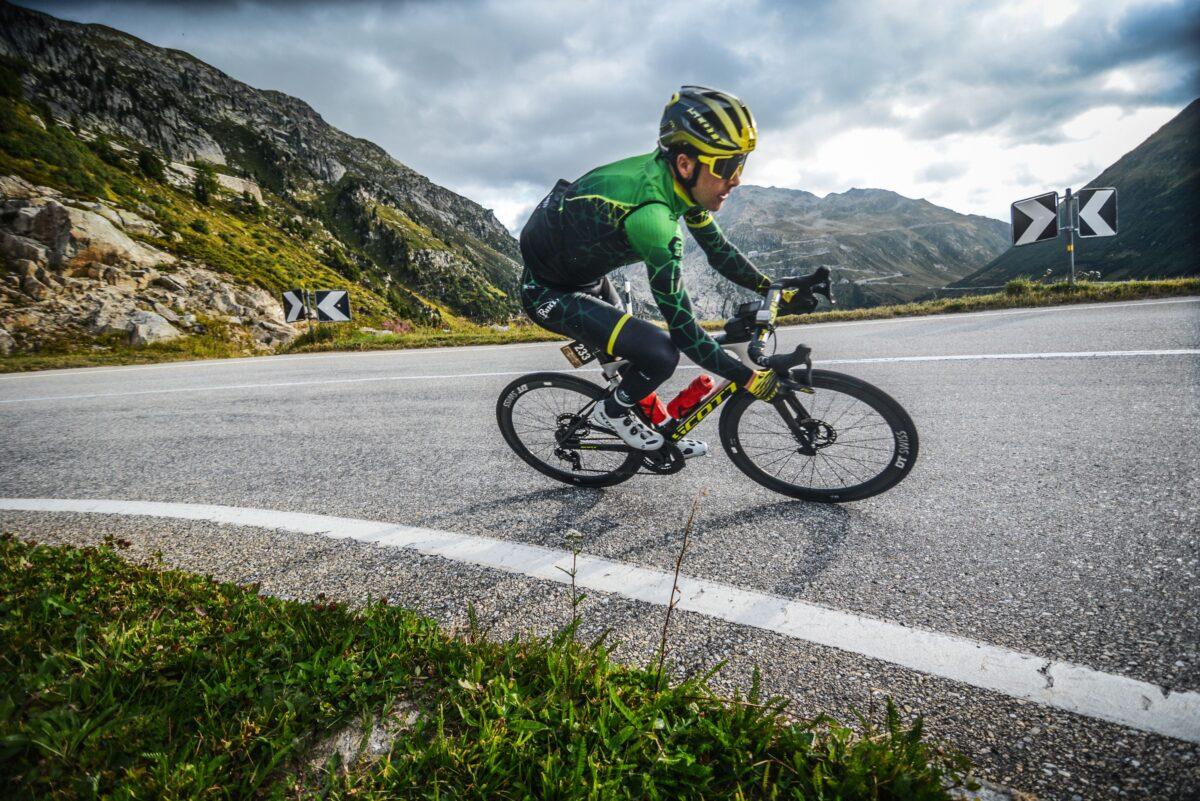 Rang 3 beim Chasing Cancellara.
