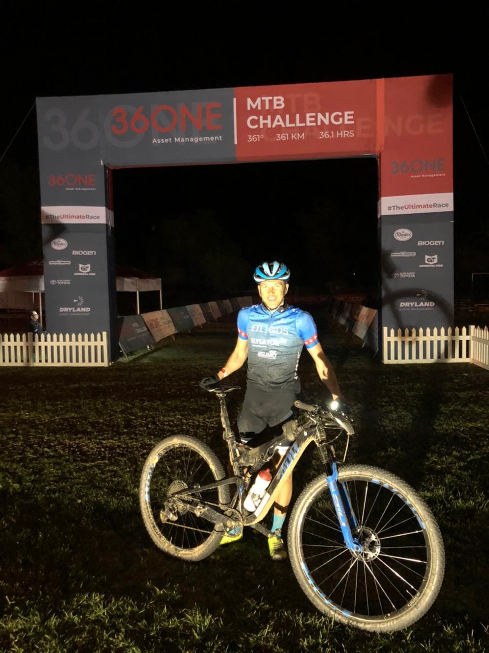 Sprintsieg bei der 36ONE Challenge!