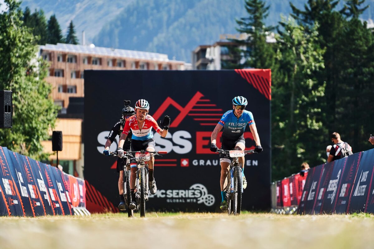 Dritte Etappe St.-Moritz-Davos, erneut Podest!