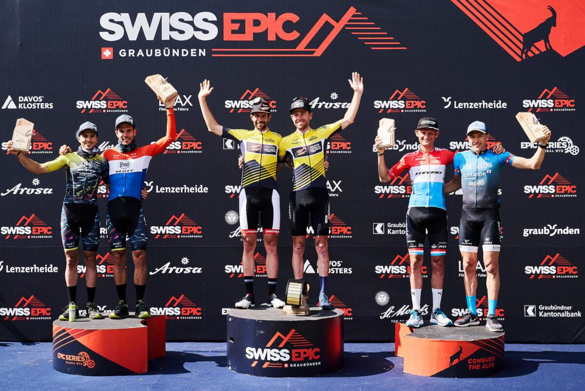 3ter Gesamtrang am Swiss Epic 2021!