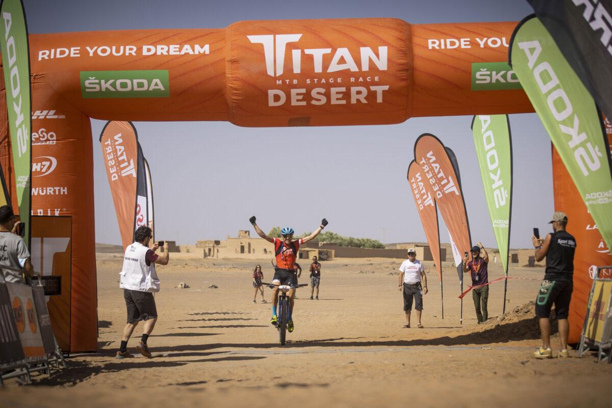 Gesamtsieg beim Titan Desert 2021!